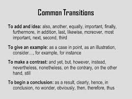 the five paragraph essay overview elements introduction first  7 common transitions