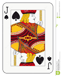 Images & Illustrations of jack of spades