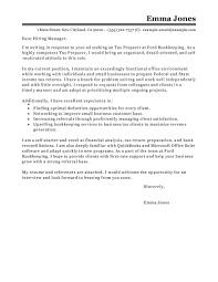 best tax preparer cover letter examples livecareer edit