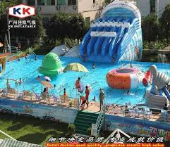 Outdoor pool with slide House 2019 Giant Steel Frame Pool With Floating Water Sports Equipment Used Swimming Pool Slide For Sale From Lynnkk 829649 Dhgatecom Dhgate 2019 Giant Steel Frame Pool With Floating Water Sports Equipment