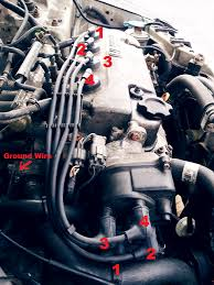 2000 acura integra spark plug wire diagram wiring diagram and spark plugs order to the distributor cap for 2000 fixya