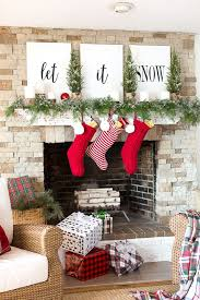 Ideas take Christmas Homes America 18 Mantel Around Decorating From wS7xHUq