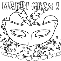 Small Picture Mardi Gras Coloring Pages Surfnetkids