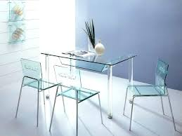 clear acrylic dining table and chairs round for room furn round kitchen table