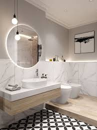 Im badezimmer ist feuchtigkeitsschutz besonders wichtig. Bad Nur Teilweise Fliesen Das Ist Die Optimale Hohe