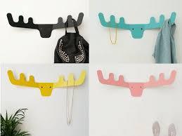 Kids Coat Rack Faux Deer Head Coat Rack Modern Coat Hanger Wall Decor Wall 65