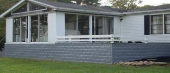 Stone Skirting Here Are Some Great Photos Of A New Manufactured Decorative Mobile Home Skirting