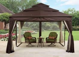 gazebo furniture ideas. Stunning Steel Metal Fabric Gazebo Canopy With Grill Walmart And Round Lowes Table Also Chairs Cushion Rocking For Outdoor Backyard Lawn Ideas Furniture