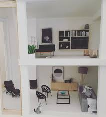 dollhouse furniture modern. Modern Dollhouse By The Emporium Malibu Kit 1:12 Scale Miniatures Follow @onebrownbear On Instagram Furniture E