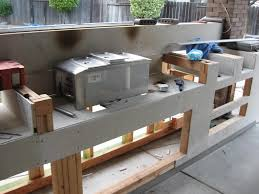 Making An Outdoor Kitchen Smokeslingers Mak2 Star Build In Outdoor Kitchen
