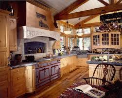Country Kitchen Gallery Designing Country Kitchen With Rustic Island Home Design And Decor