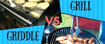 outdoor griddle cooking in outdoor propane gas