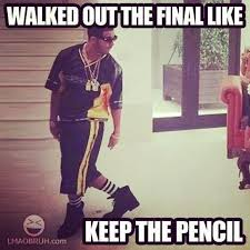 Good luck on your finals! #drake #drizzy... - DRAKE JOKES via Relatably.com