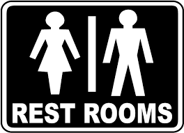 restroom signs. Unique Restroom Restrooms Sign Inside Restroom Signs X