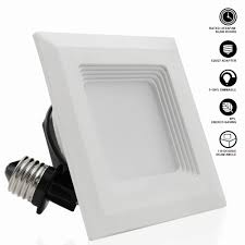 recessed lighting retrofit kits elegant 4 inch square retrofit led recessed light torchstar