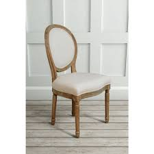 oval back dining chair. French Limed Oak Oval Back Dining Chair R