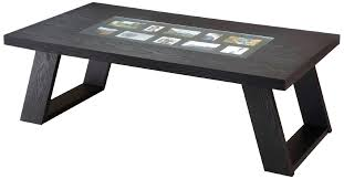 simple wooden black coffee tables decorations minimalist contemporary digital television table lamps