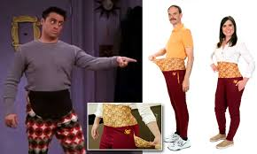 Stove Top Creates Joey Tribianis Thanksgiving Pants Daily Mail Online