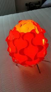 ikea orange table lamp