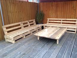 Garden Furniture From Pallets