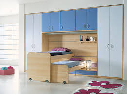 modern teen furniture. modern teen bedroom furniture with interesting bunk bed and high wardrobe cabinets on concrete flooring d