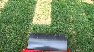 Diy Sod How To Use A Lawn Roller After Laying Sod Diy Landscaping Youtube