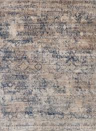 loloi rugs anastasia collection area rug 5 3 round mist blue contemporary area rugs by plushrugs