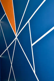 geometric wall paintDIY Geometric Wall Design  A Little Craft In Your Day