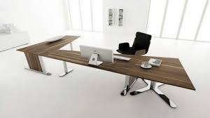 modern home office desk design white interior