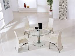 kitchen table round small glass carpet flooring chairs reclaimed wood pedestal 6 seats copper coastal lovable