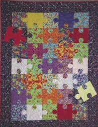 Easy Quilt Pattern - Puzzle Quilt Block & Easy Quilt Pattern Adamdwight.com