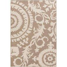 big pine tan 2 ft x 5 ft indoor outdoor area rug