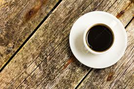 coffee table top view. Cup Of Coffee On A Wood Table, Top View Stock Photo - 15821212 Table T