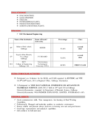 Extraordinary Interest Area In Resume 67 For Professional Resume with Interest  Area In Resume