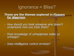 flowers for algernon a totally sweet book a totally sweet book  these are the themes explored in flowers for algernon