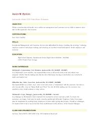 Resume Job Description For Service Crew Resume For Study