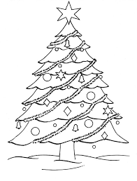 Small Picture 25 unique Christmas tree coloring page ideas on Pinterest