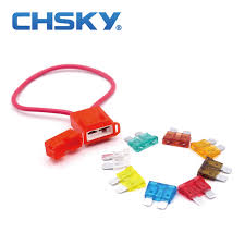 chsky 2 pcs high temperature resistance ceramic fuse holder ato ceramic fuse box chsky 2 pcs high temperature resistance ceramic fuse holder ato medium fuse fit accurately blade fuse