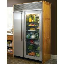 refrigerator vikings kitchens and house refrigerator glass front beko glass front 3 door fridge freezer