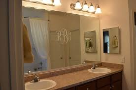 trim around bathroom mirror. Master Bathroom Mirror--before | 11 Magnolia Lane Trim Around Mirror H