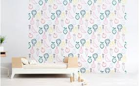 baby room fruit and veggie wallpaper baby nursery wall mural kids room wall decor