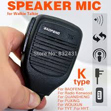 handheld mic speaker for motorola radio gp328 ht750 pro5150 mtp750 mini handheld ptt speaker mic para kenwood rádio quansheng puxing wouxun hyt tyt baofeng uv5r 888