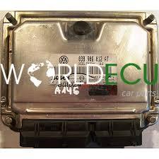 ECU ENGINE CONTROLLER SEAT LEON 1.9 TDI ASV 038 906 012 AT ...