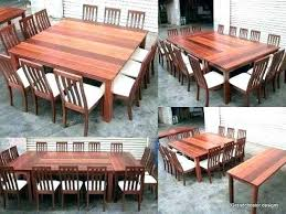 12 person outdoor dining table ng room table for person round elegant of square outdoor 12