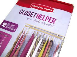details about rubbermaid closet helper 2 shelf unit instantly adjustable closet shelf new