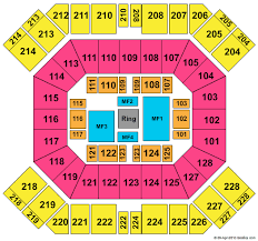 Pan American Center Seating Chart With Rows Pan American Center Seating Chart