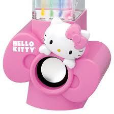 speakers pink. hello kitty usb powered dancing water speakers - pink (kt4040) m