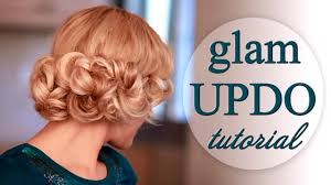 1920s Long Hair Style curly updo hairstyle for weddingpartyprom faux bob for long 1703 by wearticles.com