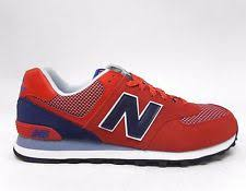 new balance shoes red. new balance men\u0027s 574 day hiker shoes red/navy ml574utb a red