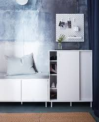 ikea hallway furniture. Maximise Your Small Hallway Using Space-saving Furniture With Double Functions! IKEA Offers Ikea L